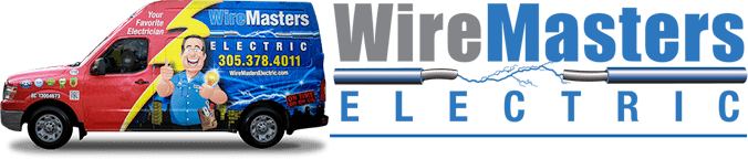 logo-truck - Miami Electrician - WireMasters Electric Inc